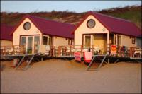 Strandhuisjes Zeeland   Strandhuisje Slapen op Strand